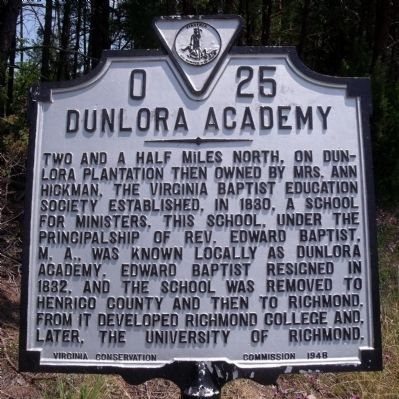 Dunlora Academy Marker image. Click for full size.