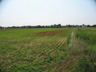 Looking Southeast Down the Virginia Ditch Fence Today image. Click for full size.