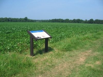 Fourth Wayside on the Slaughter Pen Farm Trail image. Click for full size.
