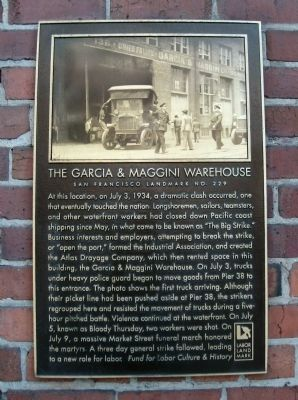 The Garcia and Maggini Warehouse Marker image. Click for full size.