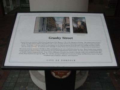 Granby Street Marker image. Click for full size.