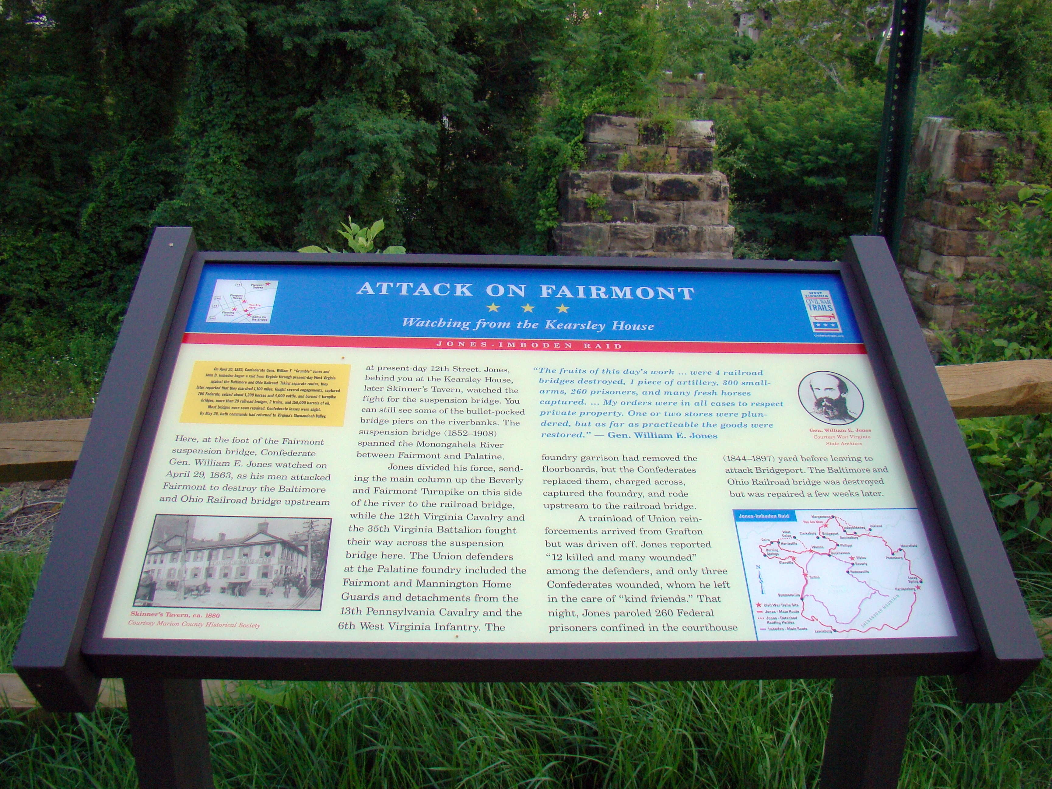 Attack on Fairmont Marker