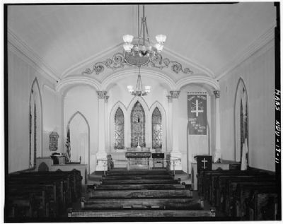 St. Peter's Episcopal Church - Interior image. Click for full size.