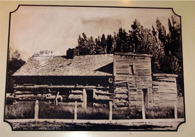 Early Photo of Mormon Station image. Click for full size.