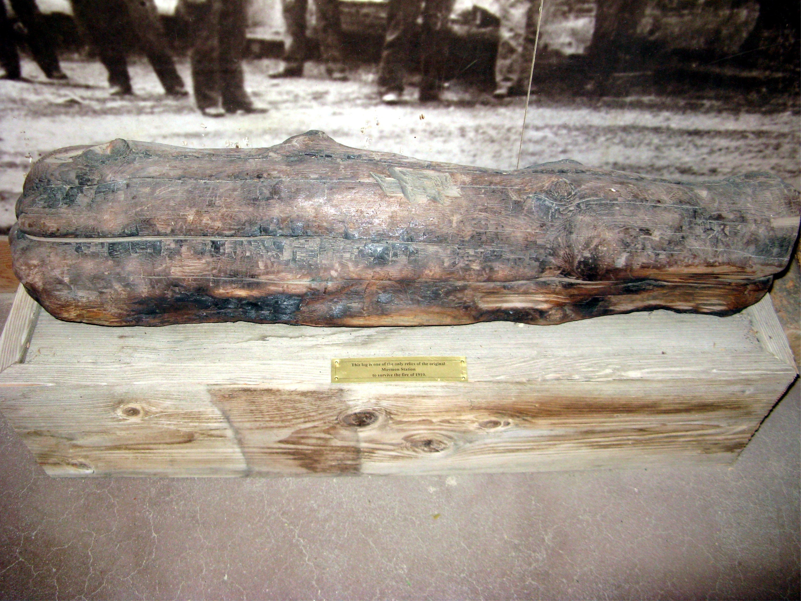Original Log From the Mormon Station