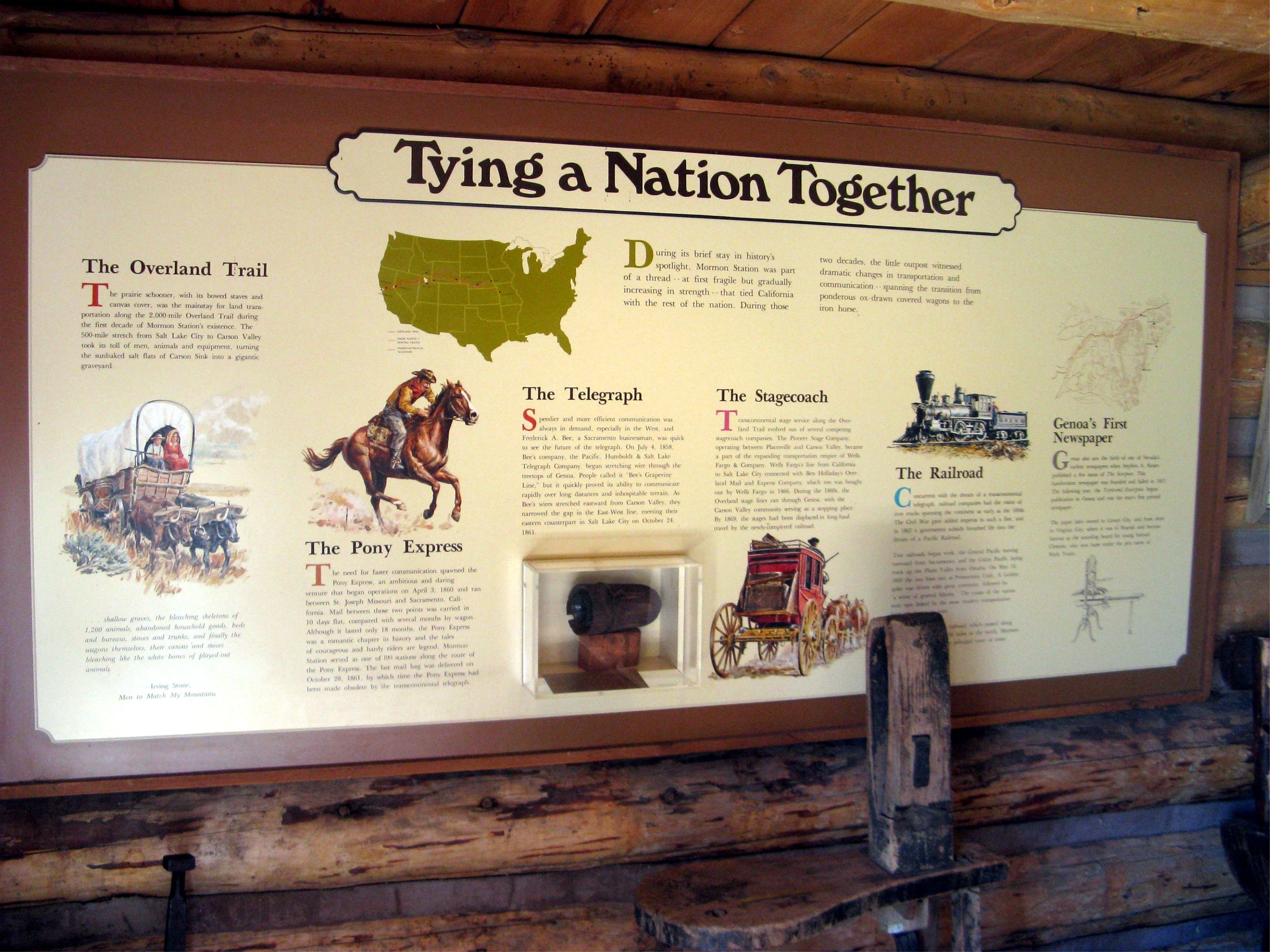 Tying a Nation Together