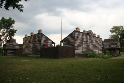 The Last Two American Forts image. Click for full size.