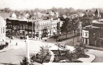 Corner of East Benson and South Main Streets image. Click for full size.