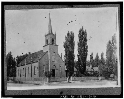 Methodist Church of Carson City image. Click for more information.