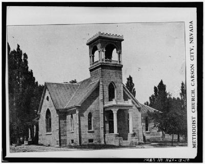 Methodist Church of Carson City image. Click for full size.
