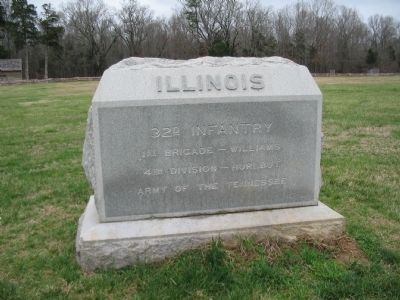 32d Illinois Infantry Monument - Front image. Click for full size.