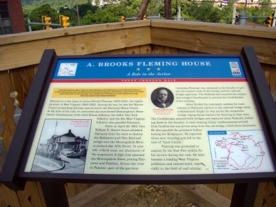 A. Brooks Fleming House Marker image. Click for full size.