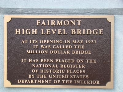Fairmont High Level Bridge image. Click for full size.