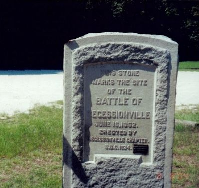 Battle of Secessionville Marker image. Click for full size.