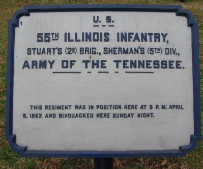 55th Illinois Infantry Tablet image. Click for full size.