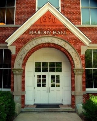Hardin Hall Side Entrance<br>Clemson University Historic District #2 image. Click for full size.