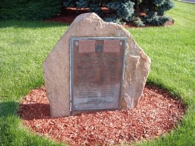 Other View - - Revolutionary War Memorial Marker image. Click for full size.