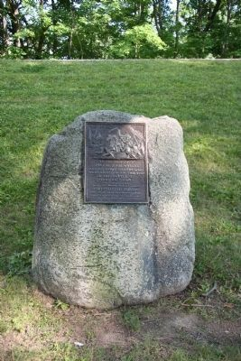 The Battle of Harmar's Ford Marker image. Click for full size.
