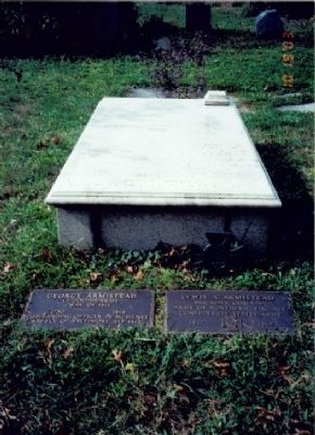 Grave of Brig. General Lewis A. Armistead image. Click for full size.