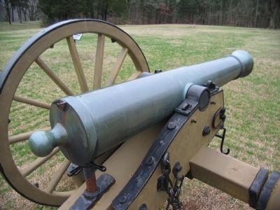 3.67-inch Rifled 6-pdr Field Gun image. Click for full size.