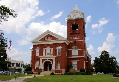 Butts County Courthouse image, Touch for more information
