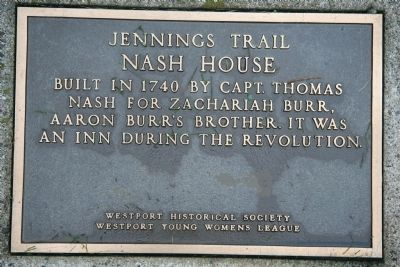 Nash House Marker image. Click for full size.
