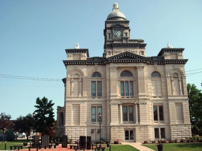 South Side - - Clinton County Courthouse image. Click for full size.