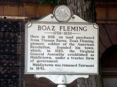 Boaz Fleming Marker image. Click for full size.
