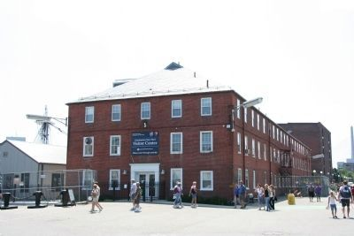 Charlestown Navy Yard Visitor Center image. Click for full size.