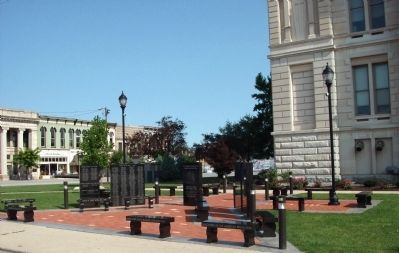 Other View - - Clinton County War Memorial image. Click for full size.