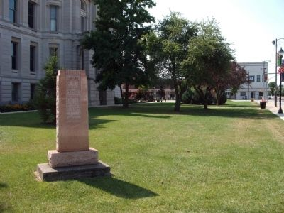 Navy Memorial - - Just a Few more Steps on N/W Corner of Courthouse Lawn image. Click for full size.