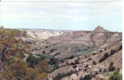 North Dakota Badlands image. Click for full size.