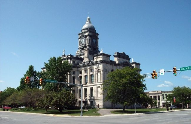 North / East Corner - - Clinton County Courthouse image. Click for full size.