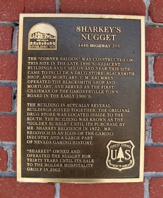 Sharkey's Nugget Marker image. Click for full size.
