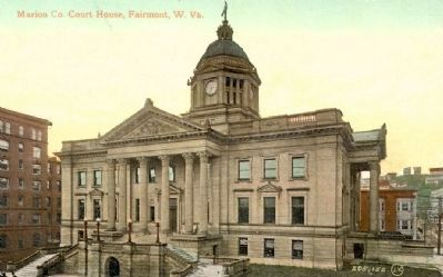 Marion County Courthouse, Fairmont, W. Va. image. Click for full size.