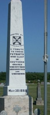 Melvern Civil War Tribute Marker image. Click for full size.