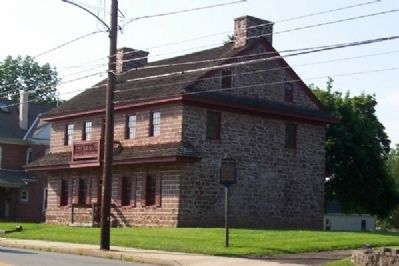 Muhlenberg House and Marker image. Click for full size.