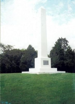 Marker on Stones River National Battlefield image. Click for full size.