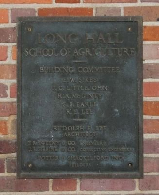 Long Hall Plaque image. Click for full size.