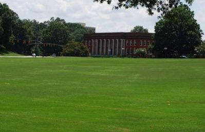 Sikes Hall Across Bowman Field image. Click for full size.