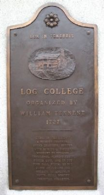 Log College Marker Center Panel image. Click for full size.
