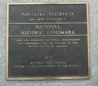 Upper Pontabla Building Marker, Panel 2 image. Click for full size.