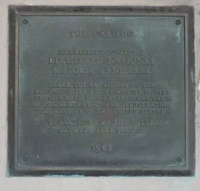 The Cabildo Marker - Panel 2 image. Click for full size.