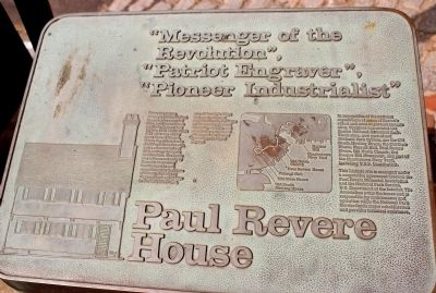 Paul Revere House Marker image. Click for full size.