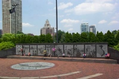 Philadelphia Vietnam Veterans Memorial image. Click for full size.