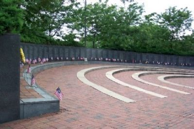 Philadelphia Vietnam Veterans Memorial Wall of Honor image. Click for full size.