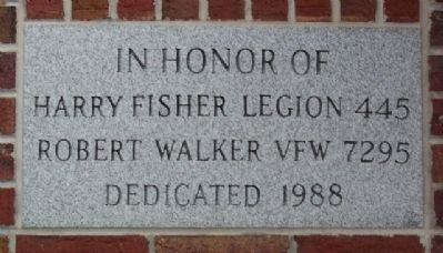 Harry Fisher American Legion Post 445 and Robert Walker VFW Post 7295 image. Click for full size.