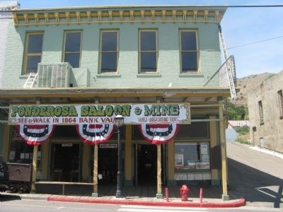 The Ponderosa Saloon and Mine Building image. Click for full size.