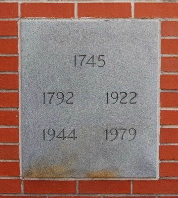 Zion Lutheran Church Cornerstone image. Click for full size.