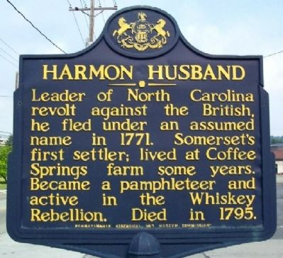Harmon Husband Marker image. Click for full size.